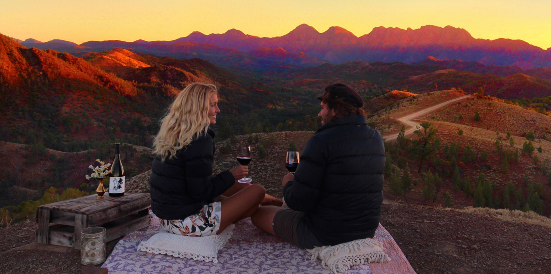 South Australian Flinders Ranges & Wineries